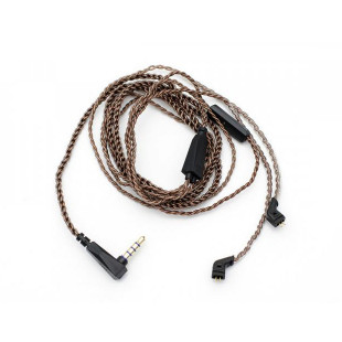 Knowledge Zenith 48-2 Copper Cable 3.5mm Mic (ZST/ZSR/ES3/ED12/ZS10/AS10/ZSN/BA10)