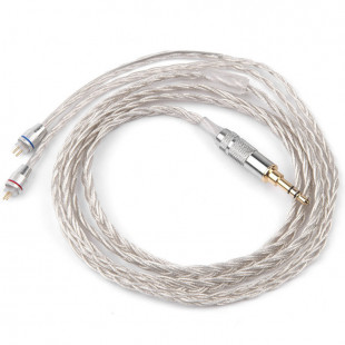 Knowledge Zenith B Braided Silver Cable (ZST/ZSR/ES3/ED12/ZS10)